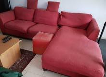 Sofa set and Bookshelf