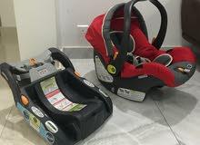 كرسي سياره للااطفال ماركه شيكو لحديثي الولاده الى وزن 10 كيلوجرام  شاهد المزيد على