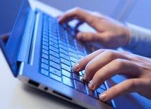 دورات تدريبية في استخدام الحاسوب / ادخال بيانات /طباعة/وبرامج المايكروسوفت