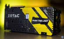 كرت شاشة ZOTAC GeForce GTX 1080 AMP!