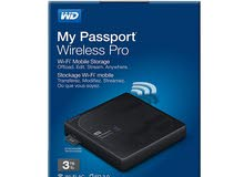 WD 3TB My Passport Pro Wireless External Hard Drive - WiFi