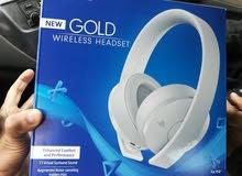 سماعات ps4 new gold