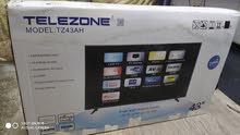 telezone - 43 inch smart Tv - full box
