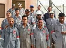 عمال انتاج بمصنع حلو الشام