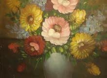 لوحه الزهور