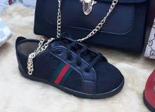حذاء  مع جنطة