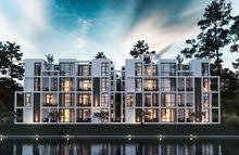 شاليه للبيع بالساحل الشمالى 118 متر ارضى بحديقه 33م مشروع zahra من معمار المرشدى