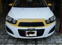 Chevrolet Sonic 2012 For sale - Yellow color