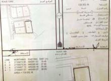 للبيع قطعة سكنية قابلة للتحويل لتجارية في مركز ولاية شناص