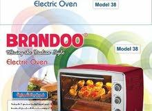 فرن كهرباء بشواية بضمان شركة براندوو BRANDOO إسم يعني ثقة