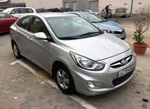 White Hyundai Accent 2014 for rent
