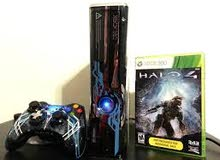 جهاز xbox 360 للبيع نسخة hallo4