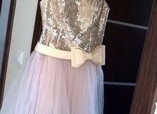 فستان سهرة ملبوس لبسة وحدة