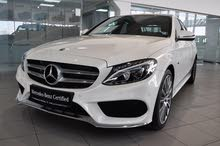 C350 e Diamond White Sedan 2018