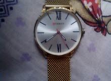 ساعة Cureen لون ذهبي مفضل اصلي