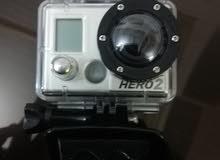 كاميرا جوبرو مع غطاء ماء و راس و واقي استعمل خفيف