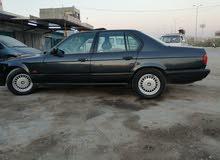 بي أم 735  بغداد 1991 اسود كذاب فول مواصفات تبريد ثلج جاهزة من كلشي