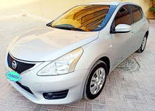 nissan tiida 2016 silver perfect condition