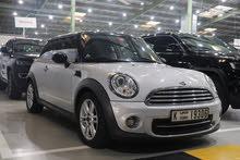 Mini Cooper 2012 Silver and Black