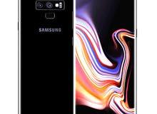 سامسونج  Galaxy Note 9نظيف بحالة الوكاله