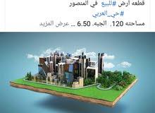أرض #للبيع في المنصور #حي_العربي