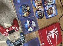 Ps4 1 TB spiderman version (8 games)