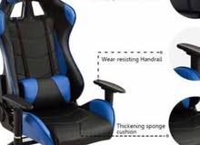 Gaming chair  كراسي مكتب للألعاب الوان مختلفه احمر وجيشي وازرق