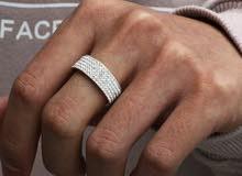 خاتم و سلسلة جديدة للبيع