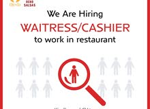 We are hiring Waitress/ Cashier