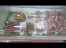 ثلاجة عرض للحوم و الاسماك