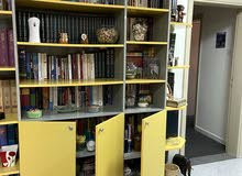 library and multi use cabinet