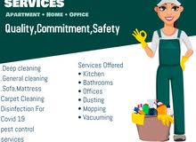 WE DO PROVIDE CLEANING SERVICES