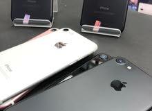 ايفون 7 ذاكره 256  جيبي بسعر مميز جدا مع ضمان وملحقات