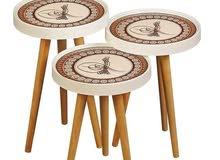 اقوى العروض وأقل الأسعر على أكبر واحدث تشكيلة طاولات الوسط والضيافة التركية  3D
