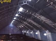 14x100 40x40x2 ، 5 ملم مأوى الحيوانات خيمة البصل.