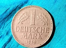 عمله الماني نادره من سنه 1950 deutsche mark