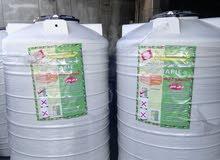 خزانات بلاستيك للبيع صنف غذائي صحي كفاله 15عام جده سعودي سابك سعر 50دينار خدمة