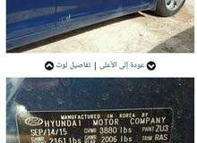 Blue Hyundai Elantra 2016 for sale