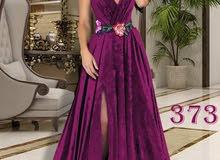 فستان مخمل اجنبي بجننن من 38 ل 44