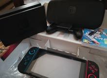 جهاز ننتيندو سويتش و جميع اغراضه مع fifa 19 و فيفا 18 قابل للتفاوض بالسعر