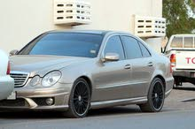 Mercedes Benz E550 2007 For sale - Gold color
