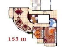 شقة 135 م للبيع بالتقسيط على 4 سنوات بمدينة العبور