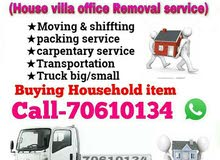 Moving & shiffting service