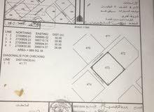 ارض للبيع البريمي ولاية محضه ، منطقة الرميله
