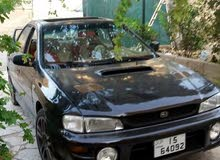 Manual Black Subaru 1998 for sale