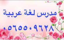 مدرس لغة عربية بجدة ومتابعة وتأسيس الصفوف الاولية جوال 0565509628
