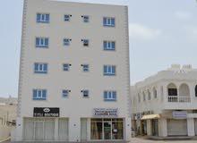 مبنى تجاري الخوض للبيع مبنى حديث مقابل مجمع السيب