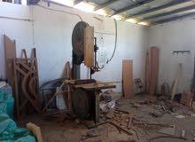 معدات نجاره الخشب مستعمله للبيع