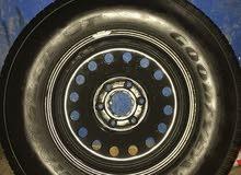عجلة تامة شبه جديدة رقم الديسكو 17 ورقم الاطار 265