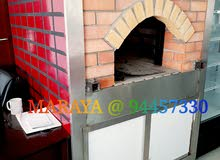 cooking range . oven and all equipments is available